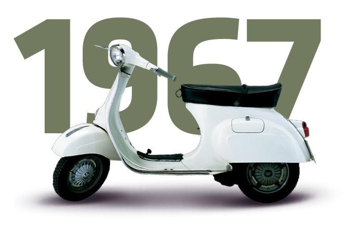 Vespa 1966 dan1967 125 Primavera title=