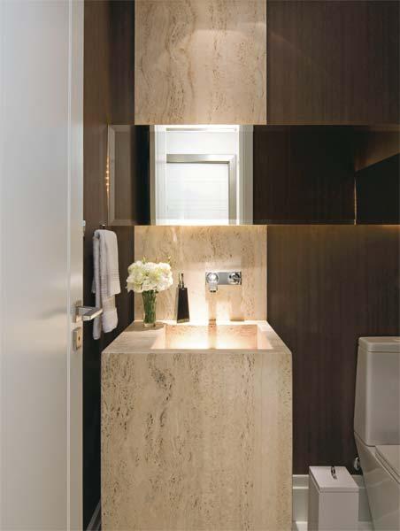 decoracao lavabo rustico : decoracao lavabo rustico:Um produto luxuoso e capaz de dar um toque diferencial no lavabo. Sua