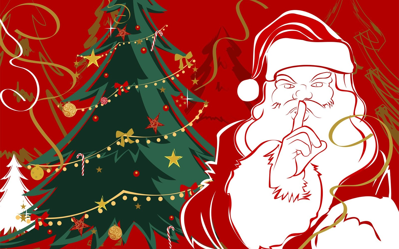 Santa claus pictures cards for kids free download pixhome for Natale immagini per desktop