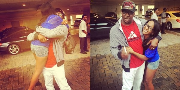 Bobby Brown and Bobbi K reunion photo