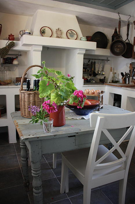 Home styles greek home style for Greek kitchen designs