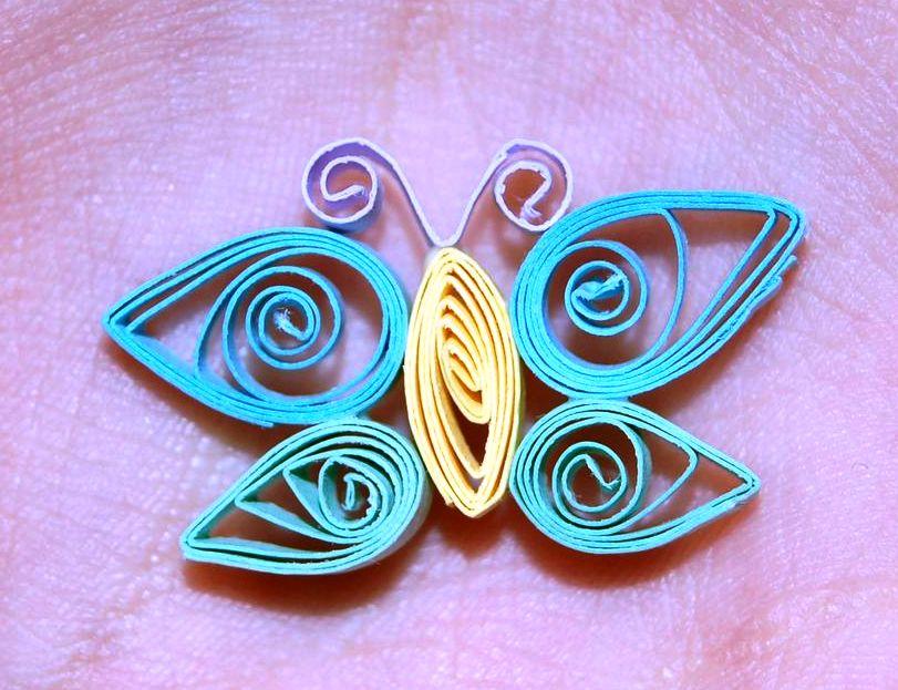 Квиллинг бабочка пошаговое
