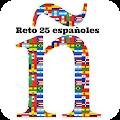 Reto 25 españoles, edición 2018