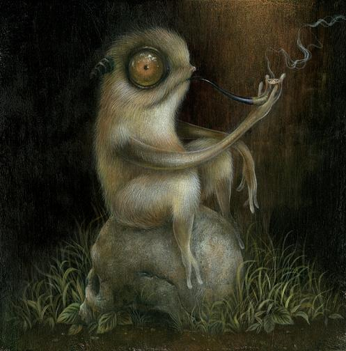 ilustrações dan may monstros sonhos