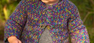 "alt=""crochet, baby sweater, free crochet pattern, Picot and Lace Sweater, instruções passo a passo, casaquinho de bebé"""