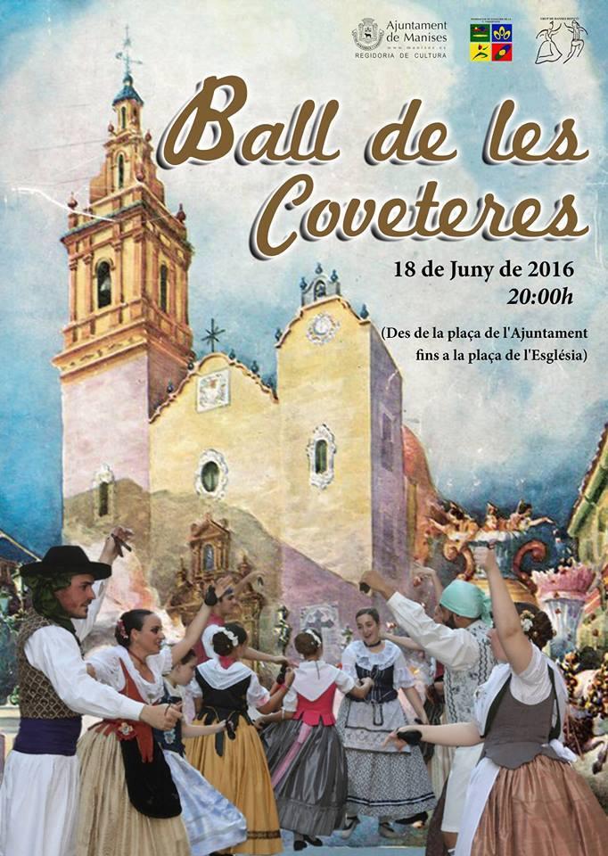 18.06.16 EN LA FESTA A SANT JOAN, ES CELEBRA EL BALL DE LES COVETERES GRUP REPICÓ