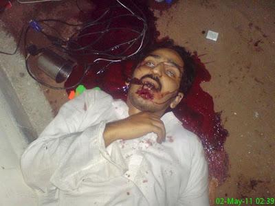 The Three Dead Men At Osama bin Laden Compound