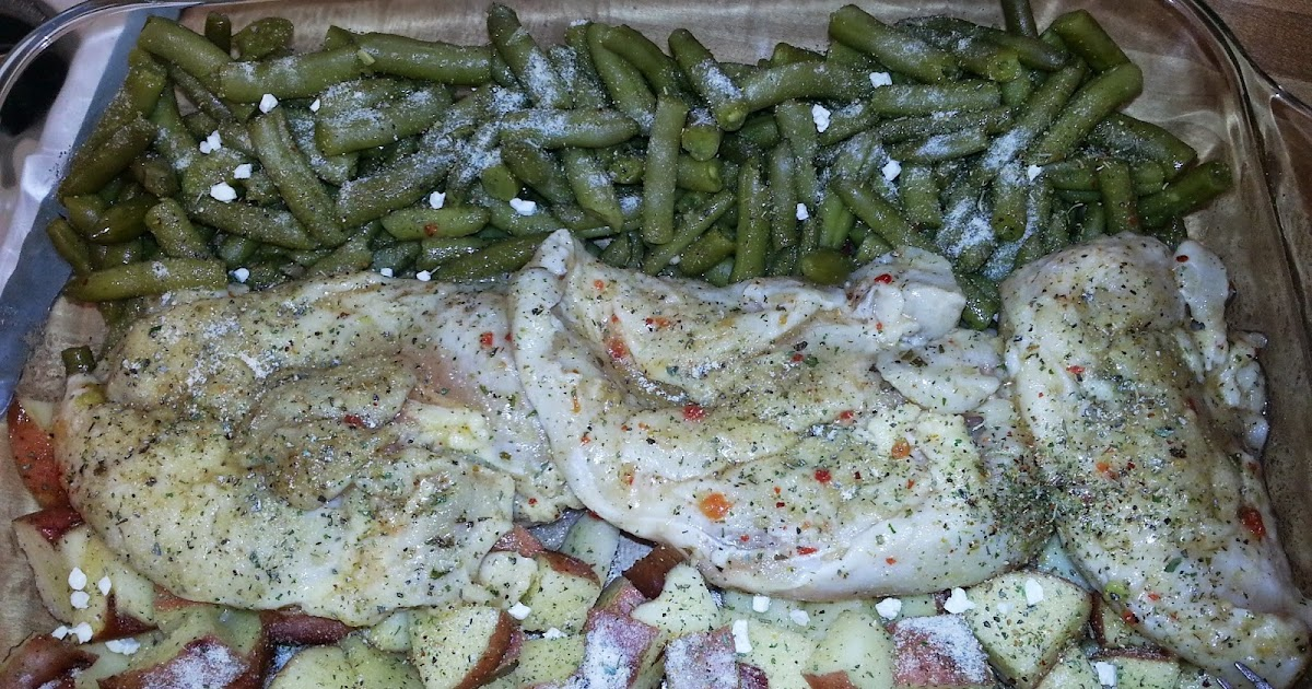 kimmie's craft corner: One Pot Chicken Potatoes & Green Beans