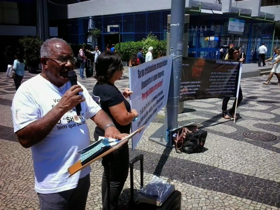 Pregação do evangelho Rio de Janeiro 09/13