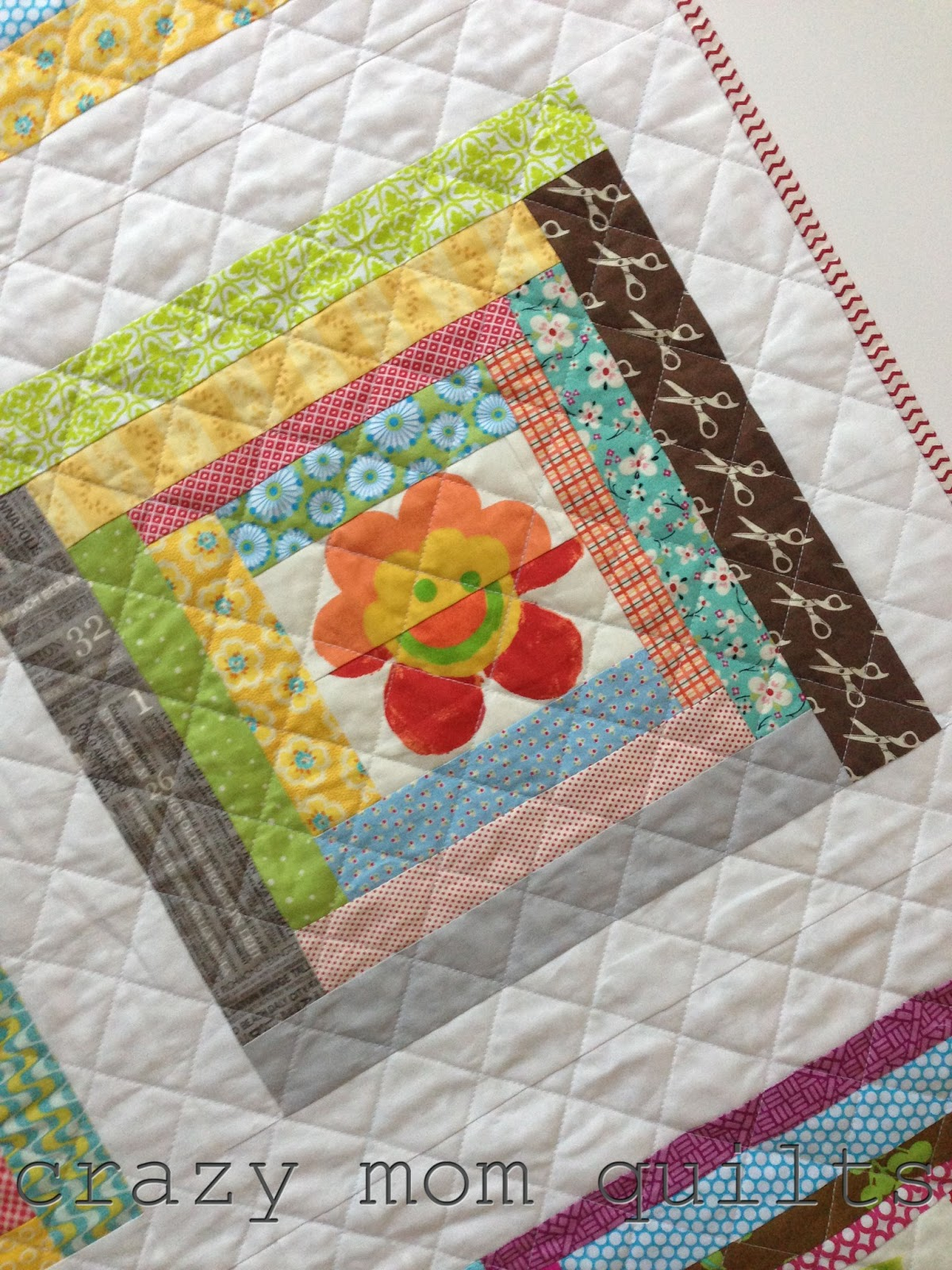 Very Impressive portraiture of crazy mom quilts: wonky log cabin quilt with #9F932C color and 1200x1600 pixels