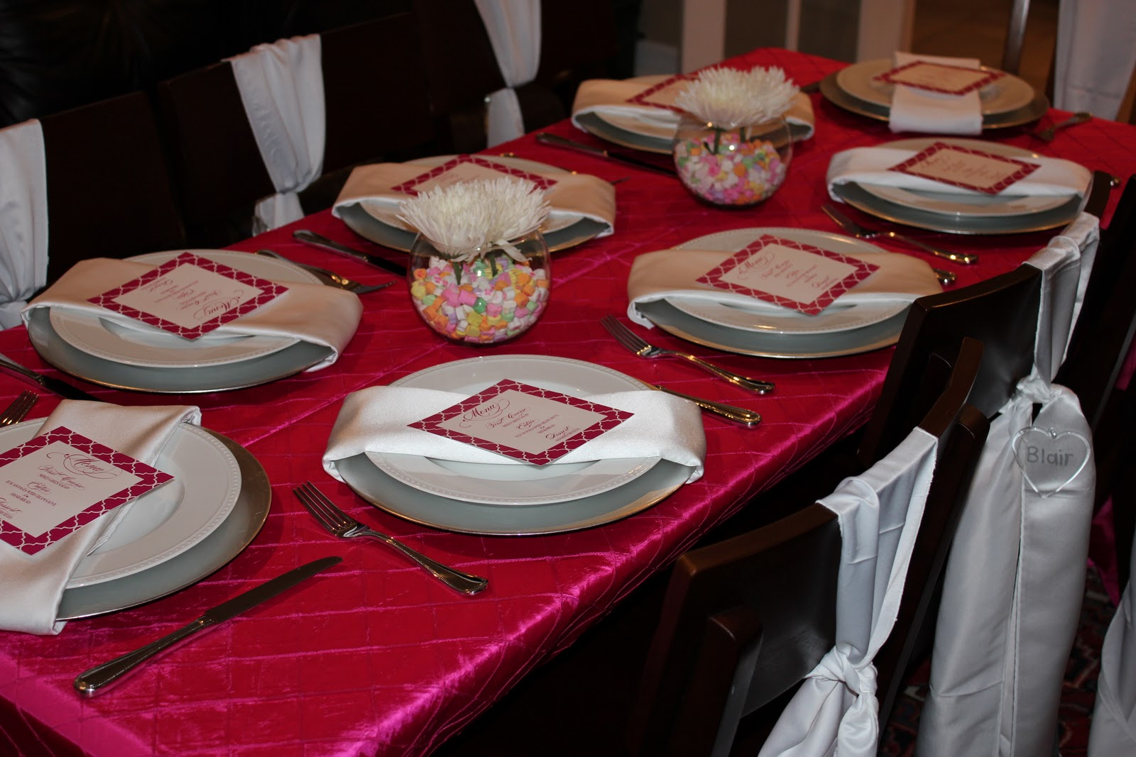 i do details valentine s day dinner party - Valentine Dinner Party Ideas