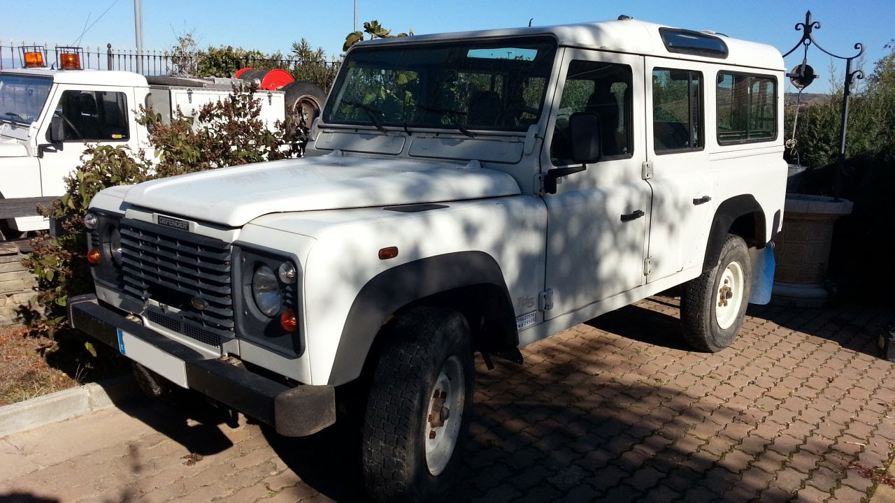 LAND-ROVER - DEFENDER 110