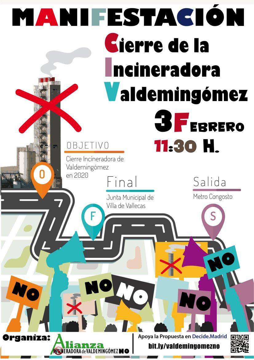 3 de febrero No a la Incineradora