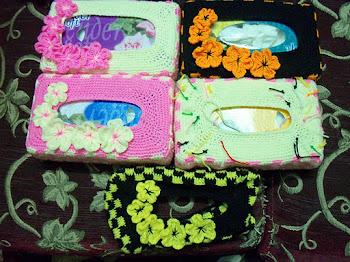 sarung kotak tisu baru