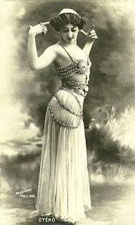 bailarina arabe antigua