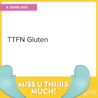 Fourth Glutenfreeversary