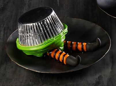 Recipe: Wicked Witch Cupcake