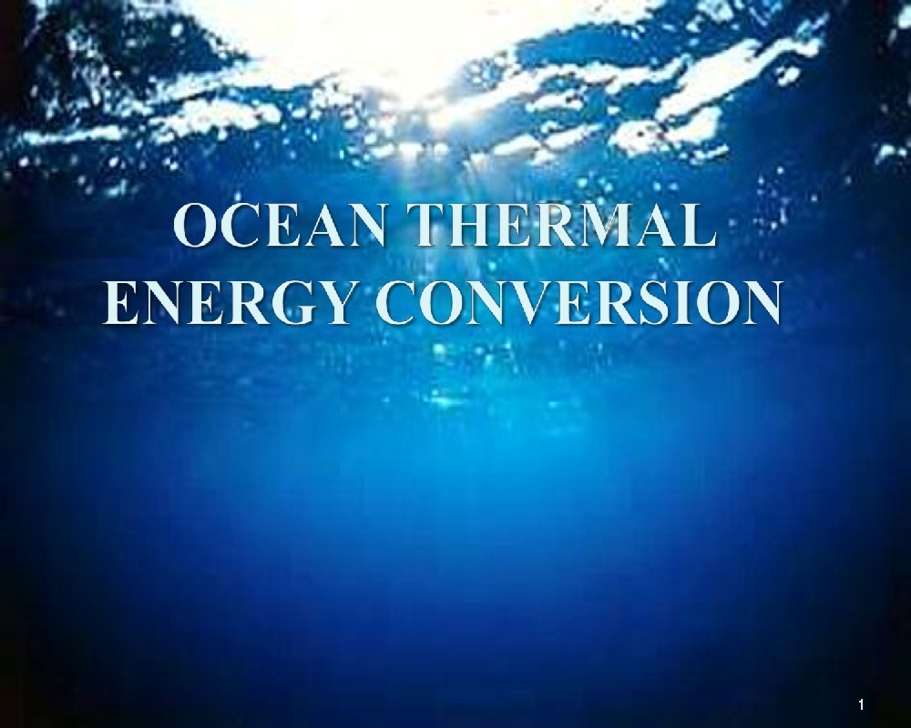 ocean turbines Tidal power: tidal power, form  tidal stream power systems take advantage of ocean currents to drive turbines, particularly in areas around islands or coasts where.