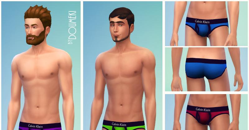Thumbnail colored mens calvin klein bikini underwear asses