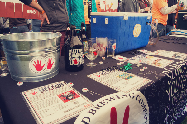 Left Hand Brewing at the 2014 East Nashville Beer festival