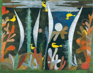 Paul Klee painting - Landscape with Yellow Birds