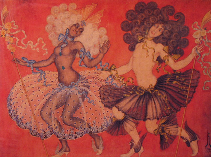 nicholas kalmakoff dance painting