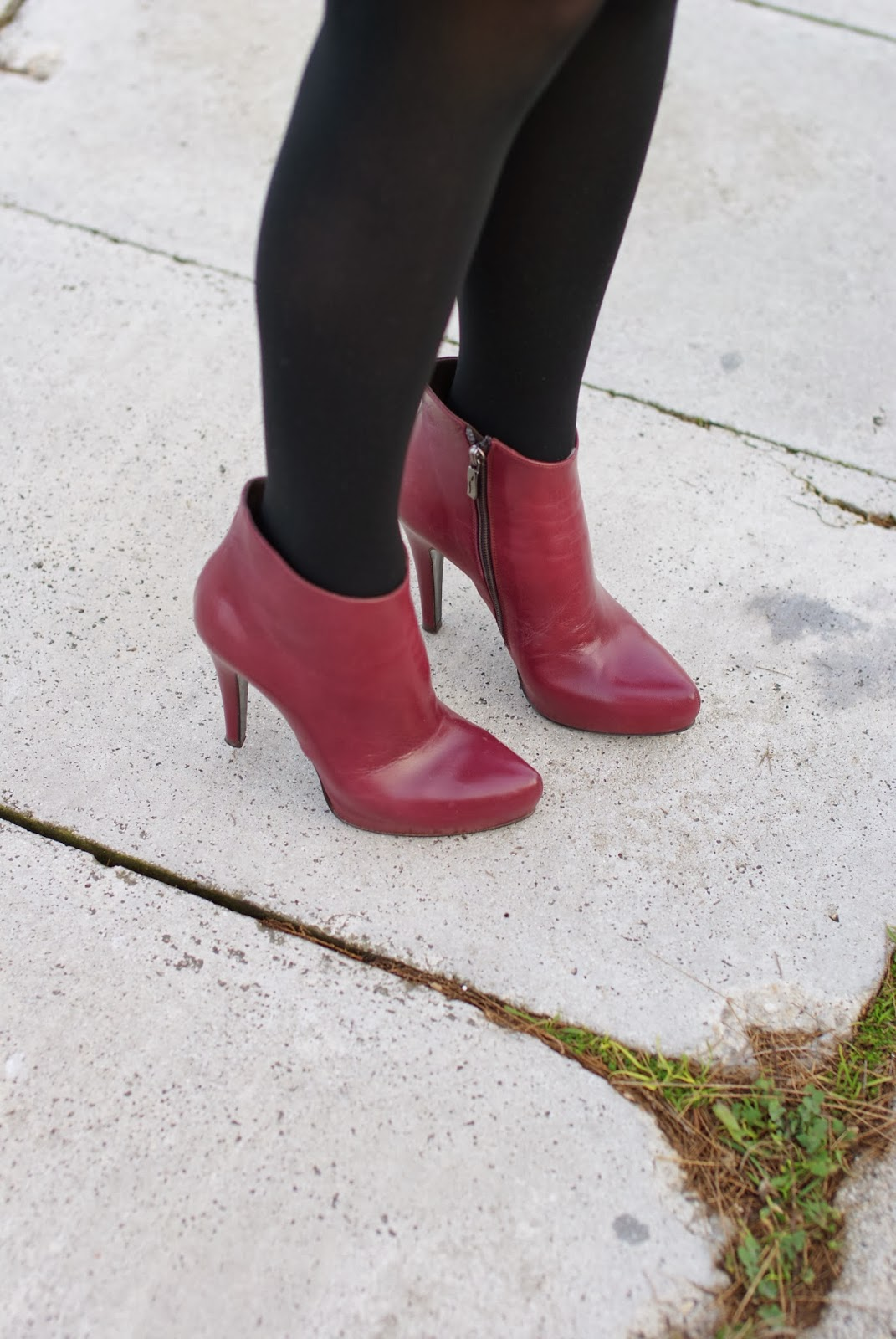 Icone burgundy boots, stivaletti bordeaux, Fashion and Cookies, fashion blogger