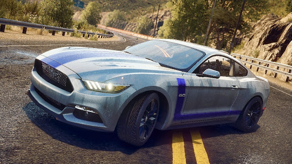 ford mustang videogame EA