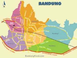 gambar peta kota bandung terbaru