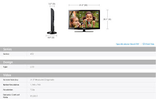 Samsung LCD 450 Series TV User Manual