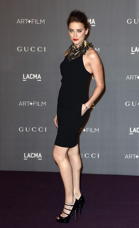 Amber Heard at LACMA Art+Film Gala 2012