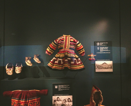 Seminole boy's shirt at the National Museum of the American Indian
