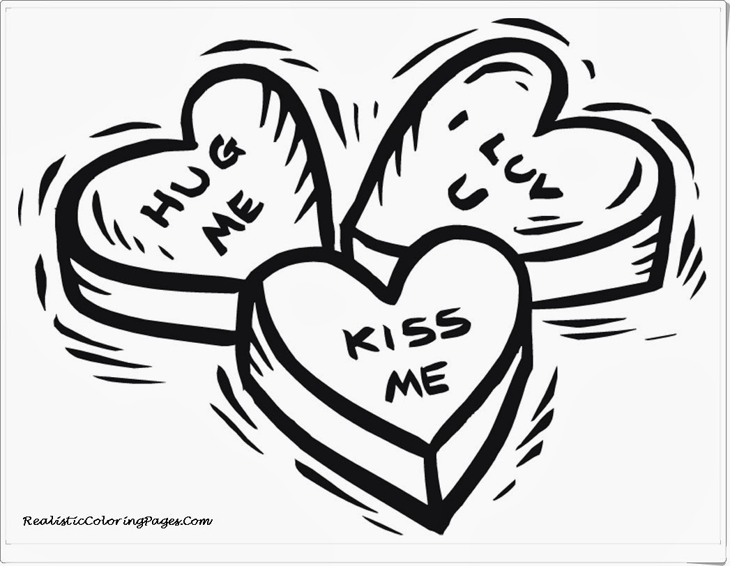 Valentines coloring pages realistic coloring pages for Valentines coloring page