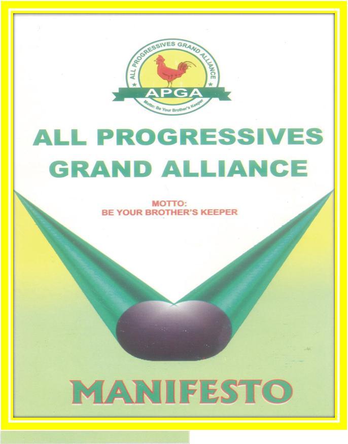 APGA Manifesto ebooklet