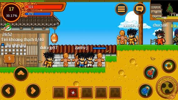 Bản game ninja school iphone