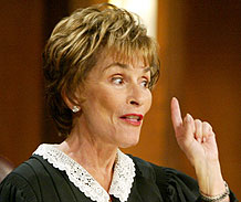 "Judge Judy,"" the popular syndicated small-claims court show helmed by ..."