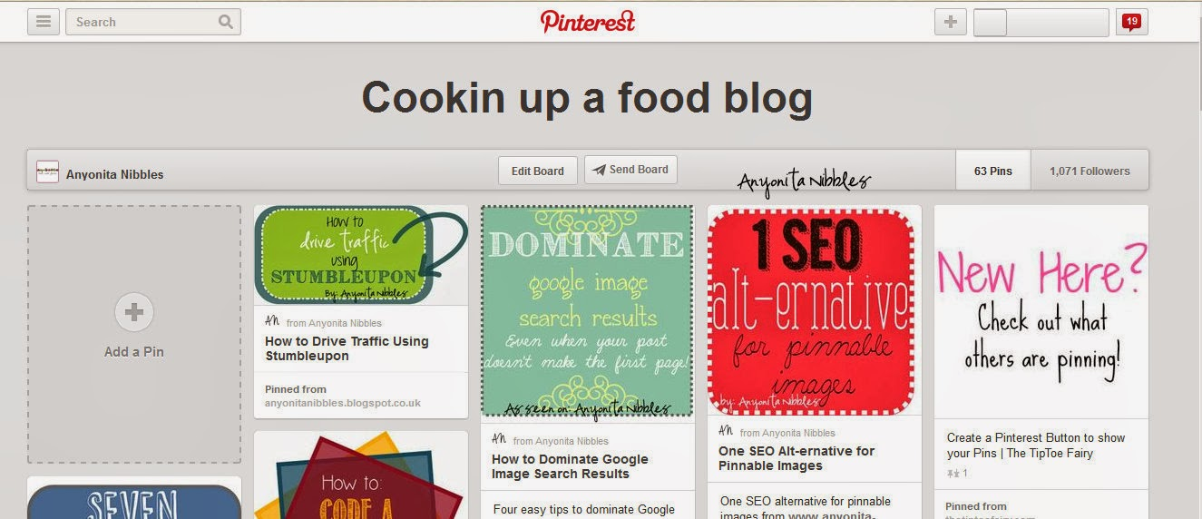 Embed Pinterest Boards into Blog Posts Step 2