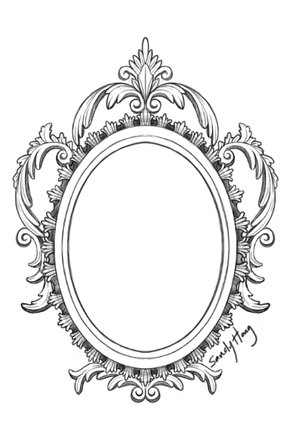 Mirror Frame Drawings Mirror Frame Drawing is The