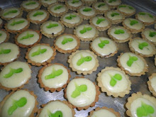 CHOC KIWI CHEESE TART