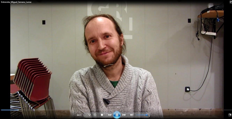 Entrevista a Miguel Serrano Larraz