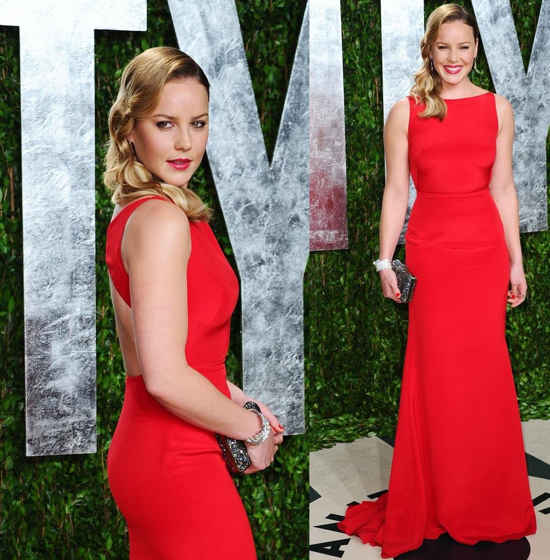 ScarletStiletto: Abbie Cornish In Tommy Hilfiger - Vanity Fair Oscar ...