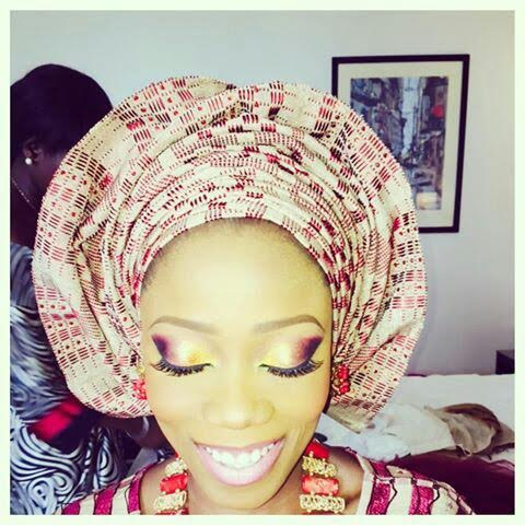 Tosyn Bucknor traditional wedding images