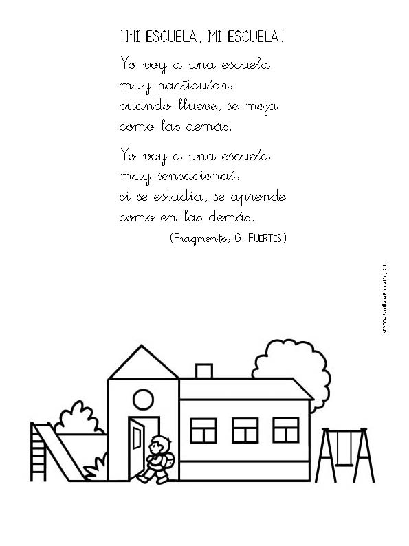 Cortos poemas infantiles - Imagui