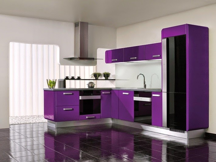 Contoh kitchen set dapur rumah minimalis modern for Contoh kitchen set minimalis