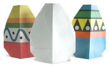 egg easy origami instructions for kids