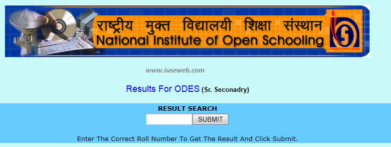 april nios result