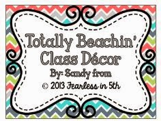 http://www.teacherspayteachers.com/Product/Totally-Beachin-Class-Decor-800981