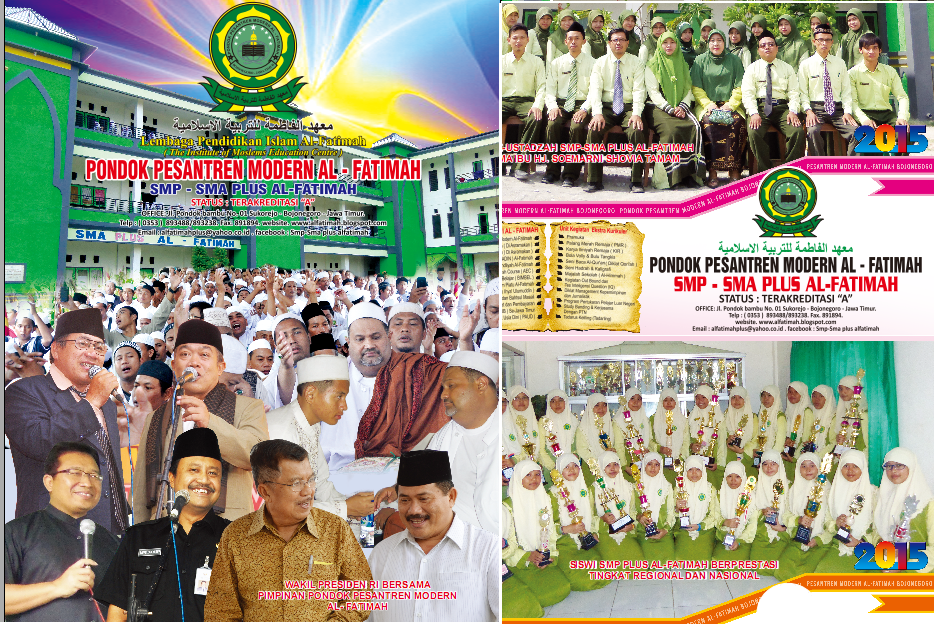 Pondok Pesantren Modern Al Fatimah (PAUD, SMP, SMA Plus Al Fatimah)