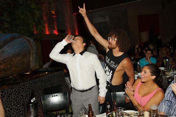 Psy & Redfoo LMFAO Di Vegas 02