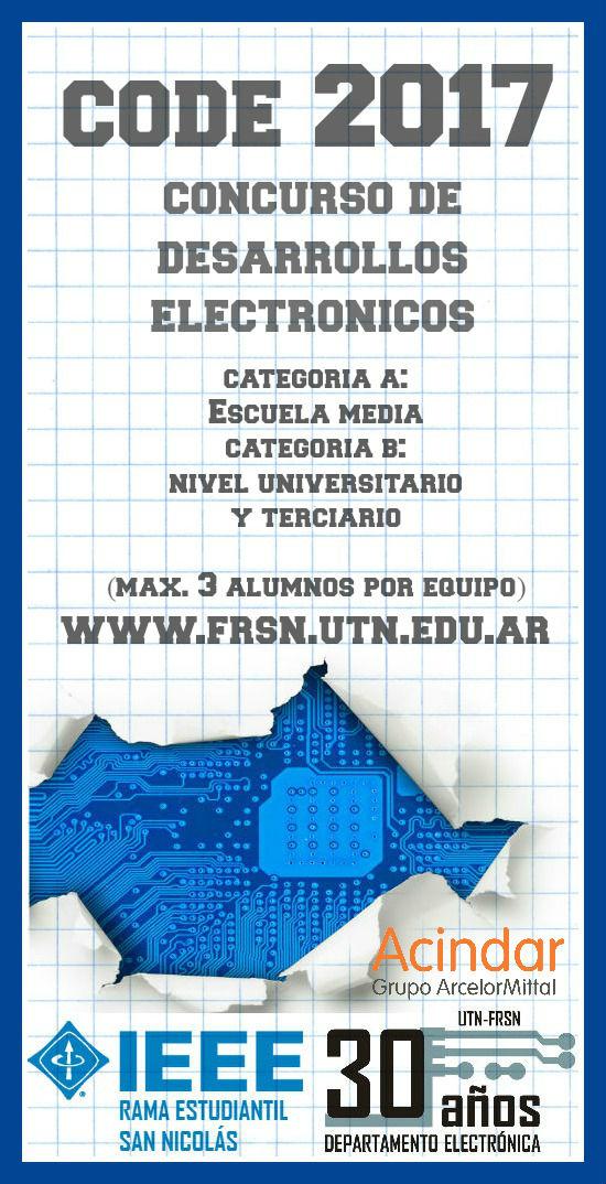 Concurso de Desarrollos Electrónicos